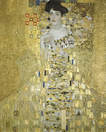 Adele Block Bauer by Gustav Klimt
