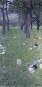 After the Rain, 1899 by Gustav Klimt
