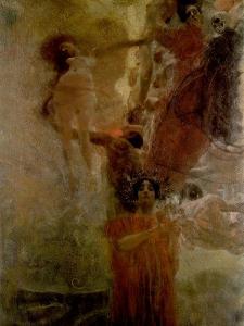 Allegory of Medicine by Gustav Klimt