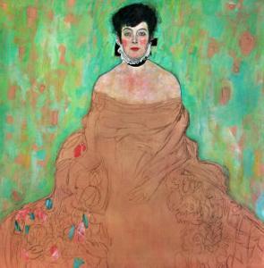 Amalie Zuckerkandl, 1917/18 by Gustav Klimt