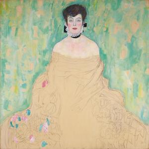 Amalie Zuckerkandl, 1917-18 by Gustav Klimt