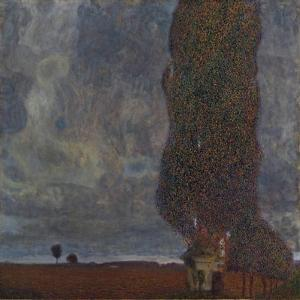 Approaching Thunderstorm (The Large Poplar I), 1903 by Gustav Klimt