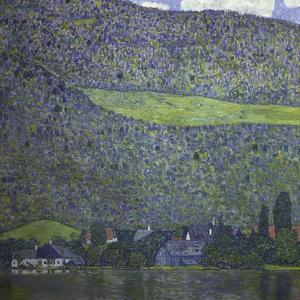 At Lake Attersee, 1915 by Gustav Klimt