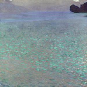 Attersee, 1900 by Gustav Klimt