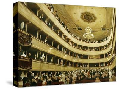 Auditorium in the Altes Burgtheater