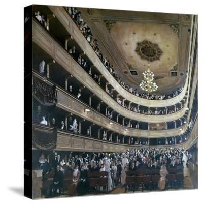 Auditorium in the Old Burgtheater, Vienna, 1888