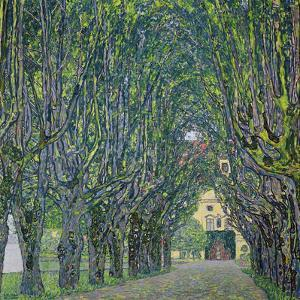 Avenue in the Park of Kammer Castle, 1912 by Gustav Klimt
