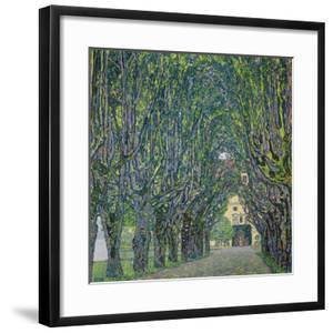 Avenue in the Park of Kammer Castle, 1912 by Gustav Klimt