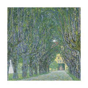 Avenue of Schloss Kammer Park, 1912 by Gustav Klimt