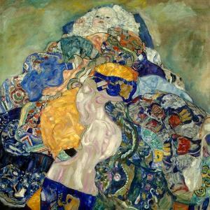 Baby (Cradl) by Gustav Klimt