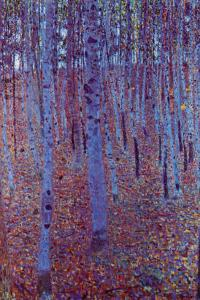 Beech Forest by Gustav Klimt