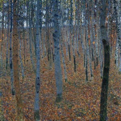 Beech Grove I, 1902 by Gustav Klimt