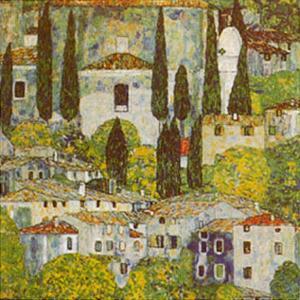 Church at Cassone on Garda by Gustav Klimt