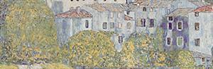 Church at Cassone sul Garda Detail by Gustav Klimt