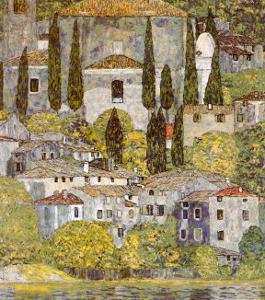 Church at Cassone sul Garda by Gustav Klimt