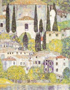 Church at Cassone sul Garda by Gustav Klimt