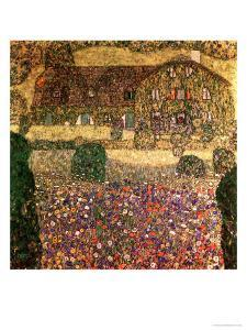 Country House by the Attersee, circa 1914 by Gustav Klimt