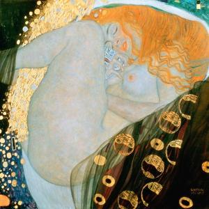 Danae, c.1907 by Gustav Klimt