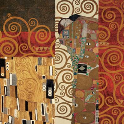 Deco Collage Detail (from Fulfillment, Stoclet Frieze)