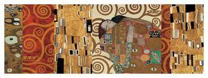 Deco Collage (from Fulfillment, Stoclet Frieze) by Gustav Klimt
