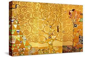 Detail of 'The Stoclet Frieze', 1905-09 by Gustav Klimt
