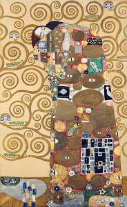 Die Erfuellung Um 1909 Werkvorlage Zum Stocletfries by Gustav Klimt