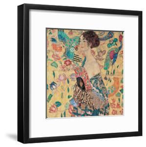 Donna con Ventaglio by Gustav Klimt