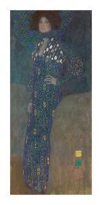 Emilie Flöge, 1902 by Gustav Klimt