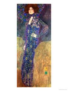 Emilie Floege by Gustav Klimt