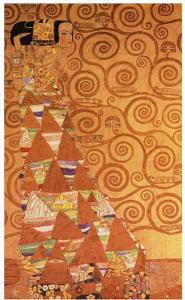 Expectation, Stoclet Frieze, c.1909 by Gustav Klimt