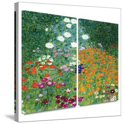 Farm Garden 2 piece gallery-wrapped canvas