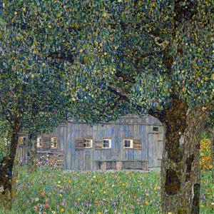 Farm House in Buchberg, 1911 by Gustav Klimt