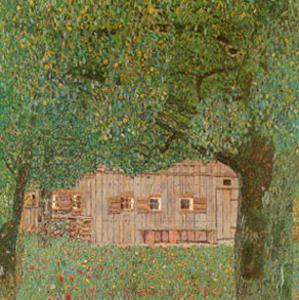 Farm House in Northern Austria by Gustav Klimt