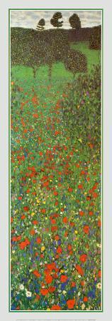 gustav-klimt-field-of-poppies