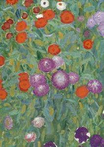 Flower Garden, 1905-07 (Detail) by Gustav Klimt