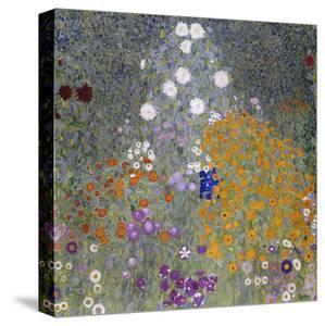 Flower Garden (Bauerngarten). 1905-07 by Gustav Klimt
