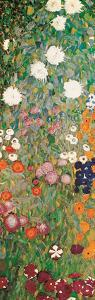 Flower Garden (detail) by Gustav Klimt