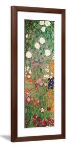 Flower Garden (detail) by Gustav Klimt