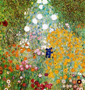 Flower Garden by Gustav Klimt