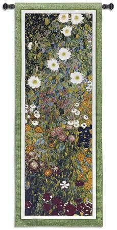 Flower Garden by Gustav Klimt