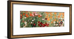 Flowery Garden Detail by Gustav Klimt