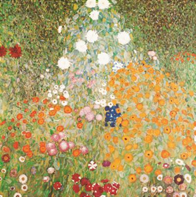 Flowery Garden by Gustav Klimt