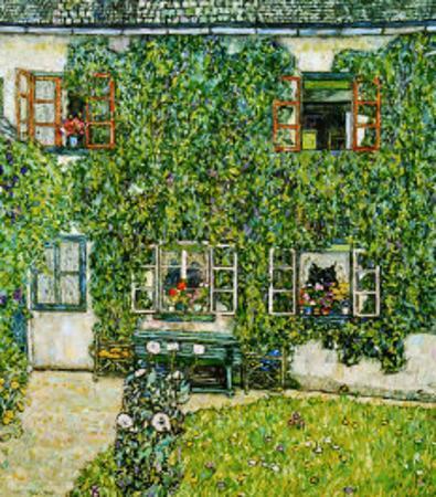 Forsthaus in Weissenbach Am Attersee by Gustav Klimt