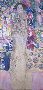 Frauenbildnis 1917/1918 by Gustav Klimt