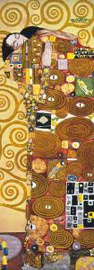 Fulfilment - Golden Metallic Ink by Gustav Klimt