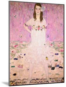 Girl in White by Gustav Klimt