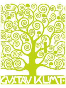 Green Tree of Life by Gustav Klimt