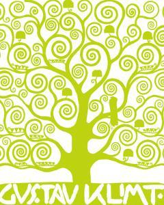 Green Tree of Life by Gustav Klimt