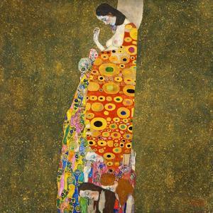 Hope, II by Gustav Klimt by Gustav Klimt