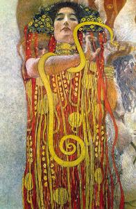 Hygeia by Gustav Klimt